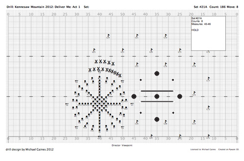 michael gaines  u00bb custom drill design for marching bands